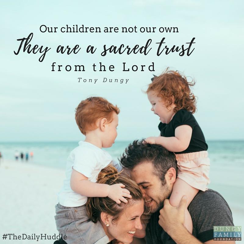 Daily Huddle Sacred Trust
