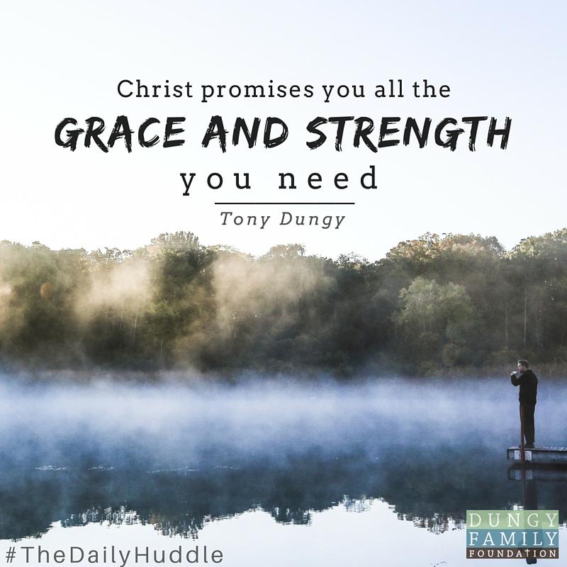 Daily Huddle grace