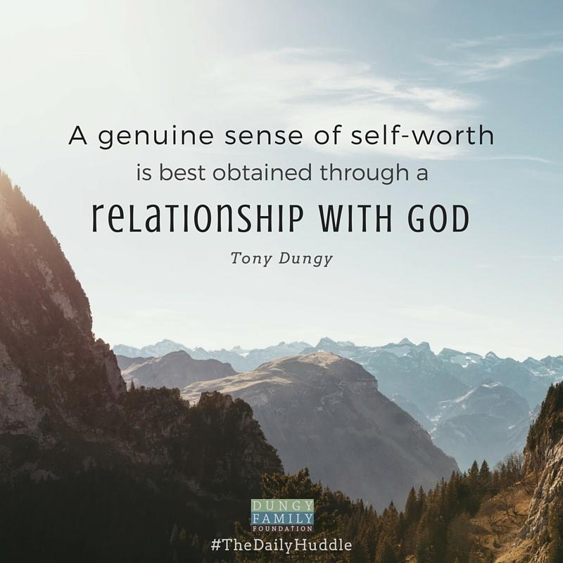 Daily Huddle self worth