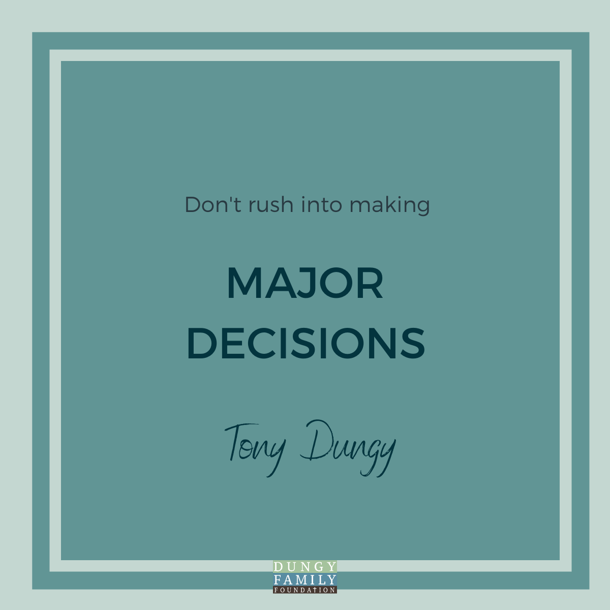 3 Steps To Making A Big Decision