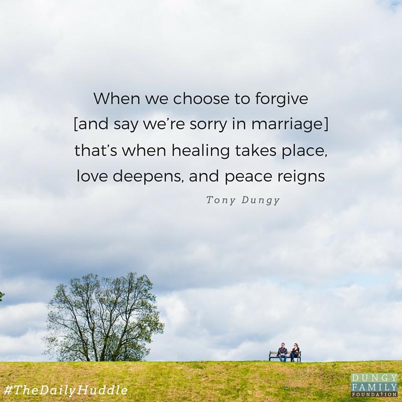 Daily Huddle forgivensss